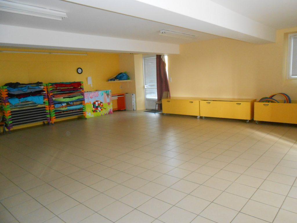 Salle de sieste, Salle de motricité